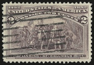 Sale Number 975, Lot Number 1483, 1893 Columbian Issue (1c thru 8c, Scott 230-236)2c Columbian (231), 2c Columbian (231)