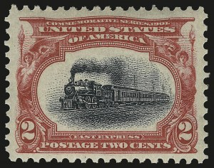 Sale Number 975, Lot Number 1645, 1901 Pan-American Issue (Scott 294-299)2c Pan-American (295), 2c Pan-American (295)