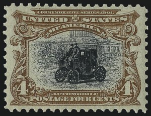 Sale Number 975, Lot Number 1646, 1901 Pan-American Issue (Scott 294-299)4c Pan-American (296), 4c Pan-American (296)
