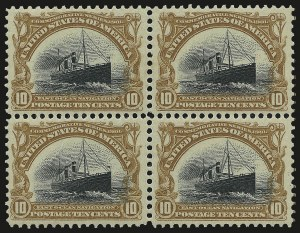 Sale Number 975, Lot Number 1652, 1901 Pan-American Issue (Scott 294-299)10c Pan-American (299), 10c Pan-American (299)