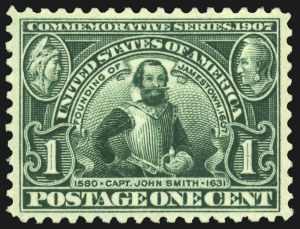 Sale Number 975, Lot Number 1707, 1904 Louisiana Purchase, Jamestown Issues (Scott 323-330)1c Jamestown (328), 1c Jamestown (328)