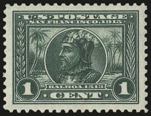 Sale Number 975, Lot Number 1793, 1913-15 Panama-Pacific Issue (Scott 397-404)1c Panama-Pacific (397), 1c Panama-Pacific (397)