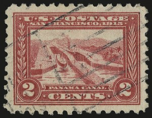 Sale Number 975, Lot Number 1813, 1913-15 Panama-Pacific Issue (Scott 397-404)2c Panama-Pacific, Perf 10 (402), 2c Panama-Pacific, Perf 10 (402)