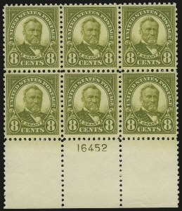 Sale Number 975, Lot Number 1976, 1922-29 Issues (Scott 551-573)8c Olive Green (560), 8c Olive Green (560)