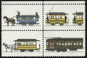Sale Number 975, Lot Number 2095, Modern Errors20c Streetcars, Intaglio Black Omitted (2062b), 20c Streetcars, Intaglio Black Omitted (2062b)