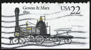 Sale Number 975, Lot Number 2096, Modern Errors22c Locomotive, Blue Omitted (2366c), 22c Locomotive, Blue Omitted (2366c)