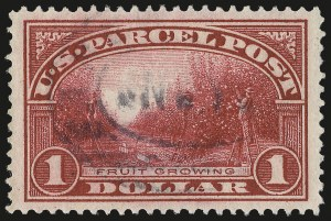 Sale Number 975, Lot Number 2275, Postal Note, Parcel Post (PN, Q, JQ, QE)$1.00 Parcel Post (Q12), $1.00 Parcel Post (Q12)