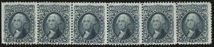 Sale Number 976, Lot Number 1326, 1861-66 Issue (Scott 68-70c)10c Yellow Green (68), 10c Yellow Green (68)