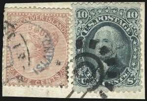 Sale Number 976, Lot Number 1328, 1861-66 Issue (Scott 68-70c)10c Yellow Green (68), 10c Yellow Green (68)