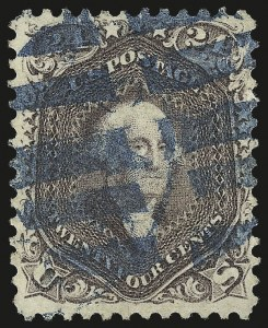 Sale Number 976, Lot Number 1335, 1861-66 Issue (Scott 68-70c)24c Red Lilac (70), 24c Red Lilac (70)