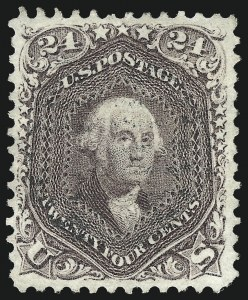 Sale Number 976, Lot Number 1339, 1861-66 Issue (Scott 68-70c)24c Red Lilac (70), 24c Red Lilac (70)