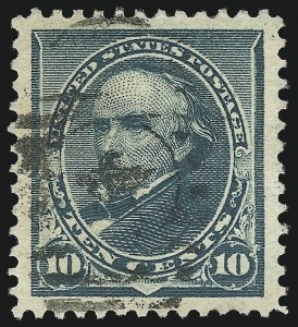 Sale Number 976, Lot Number 1654, 1890-93 Issue (Scott 219-229)10c Green (226), 10c Green (226)