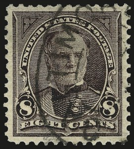 Sale Number 976, Lot Number 1771, 1895 Watermarked Bureau Issue (Scott 264-278)8c Violet Brown (272), 8c Violet Brown (272)