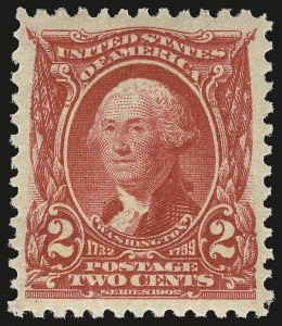 Sale Number 976, Lot Number 1850, 1902-08 Issues (Scott 300-313)2c Carmine (301), 2c Carmine (301)
