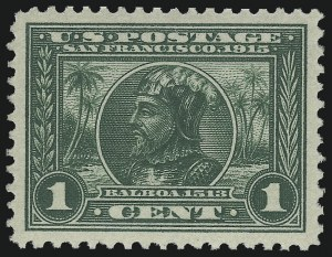 Sale Number 976, Lot Number 1978, 1913-15 Panama-Pacific Issue (Scott 397-404)1c Panama-Pacific (397), 1c Panama-Pacific (397)