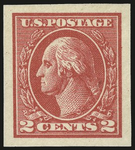 Sale Number 976, Lot Number 2125, 1918-20 Offset Printing Issues (Scott 525-536)2c Carmine, Ty. VII, Imperforate (534B), 2c Carmine, Ty. VII, Imperforate (534B)