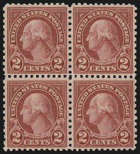 Sale Number 976, Lot Number 2167, 1922-29 Issues (Scott 574-657a, including Scott 613)2c Carmine, Rotary (579), 2c Carmine, Rotary (579)