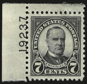 Sale Number 976, Lot Number 2190, Kans.-Nebr. Overprints (Scott 659-678) 7c Black (639), 7c Black (639)