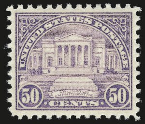 Sale Number 976, Lot Number 2204, Later Issues, including CIA Invert50c Lilac (701), 50c Lilac (701)