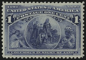Sale Number 978, Lot Number 1063, Columbian Issue1c Columbian (230), 1c Columbian (230)