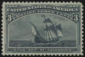 Sale Number 978, Lot Number 1065, Columbian Issue3c Columbian (232), 3c Columbian (232)