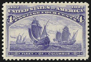 Sale Number 978, Lot Number 1066, Columbian Issue4c Columbian (233), 4c Columbian (233)