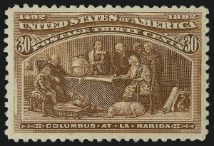 Sale Number 978, Lot Number 1069, Columbian Issue30c Columbian (239), 30c Columbian (239)