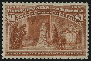 Sale Number 978, Lot Number 1070, Columbian Issue$1.00 Columbian (241), $1.00 Columbian (241)