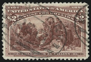 Sale Number 978, Lot Number 1071, Columbian Issue$2.00 Columbian (242), $2.00 Columbian (242)