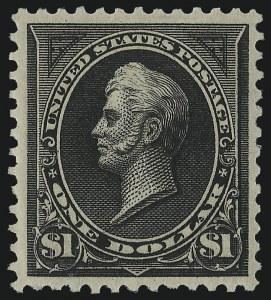 Sale Number 978, Lot Number 1081, 1894-98 Bureau Issues$1.00 Black, Ty. II (261A), $1.00 Black, Ty. II (261A)