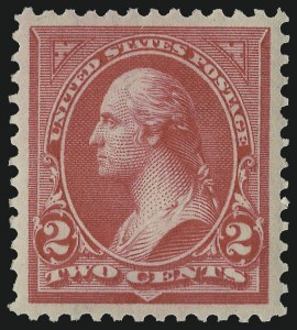 Sale Number 978, Lot Number 1082, 1894-98 Bureau Issues2c Carmine, Ty. II (266), 2c Carmine, Ty. II (266)