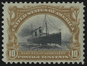 Sale Number 978, Lot Number 1097, Pan-American Issue10c Pan-American (299), 10c Pan-American (299)