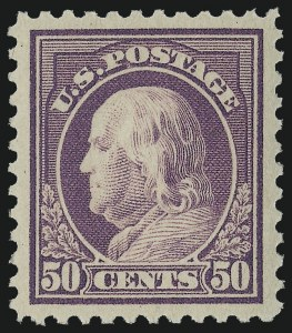 Sale Number 978, Lot Number 1106, 1908 and Later Issues50c Red Violet (517), 50c Red Violet (517)