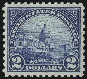 Sale Number 978, Lot Number 1108, 1908 and Later Issues$2.00 Deep Blue (572), $2.00 Deep Blue (572)