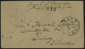 Sale Number 980, Lot Number 2767, The Steven C. Walske Collection of Military Mails (Covers to and from Confederate Generals)Richmond Va. Dec. 23, 1862, Richmond Va. Dec. 23, 1862
