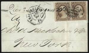 Sale Number 980, Lot Number 2981, CarriersU.S.P.O. Despatch/Pre-Paid/One Cent, U.S.P.O. Despatch/Pre-Paid/One Cent