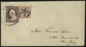 Sale Number 980, Lot Number 3032, Local and Private PostsSwarts' City Dispatch Post, New York N.Y., 1c Red (136L15), Swarts' City Dispatch Post, New York N.Y., 1c Red (136L15)