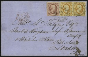 Sale Number 980, Lot Number 3392, Foreign Countries (Jamaica thru Newfoundland)NETHERLANDS, 1852, 15c Orange Yellow (3), NETHERLANDS, 1852, 15c Orange Yellow (3)