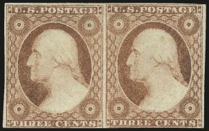 Sale Number 982, Lot Number 5067, 1c-3c 1851-56 Issue (Scott 5-11)3c Dull Red, Ty. II (11A), 3c Dull Red, Ty. II (11A)