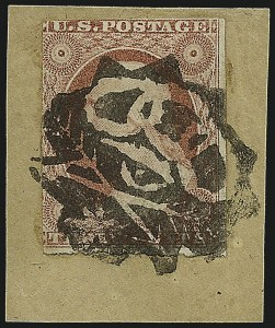 Sale Number 982, Lot Number 5069, 1c-3c 1851-56 Issue (Scott 5-11)3c Dull Red, Ty. II (11A), 3c Dull Red, Ty. II (11A)