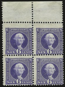 Sale Number 982, Lot Number 5316, 1869 Pictorial Issue (Scott 112-122)6c Ultramarine (115), 6c Ultramarine (115)