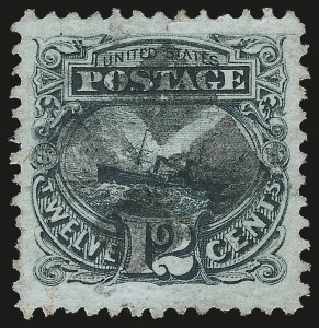 Sale Number 982, Lot Number 5327, 1869 Pictorial Issue (Scott 112-122)12c Green (117), 12c Green (117)