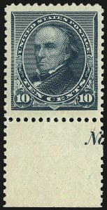 Sale Number 982, Lot Number 5525, 1890-93 Issue (Scott 219-229)10c Green (226), 10c Green (226)