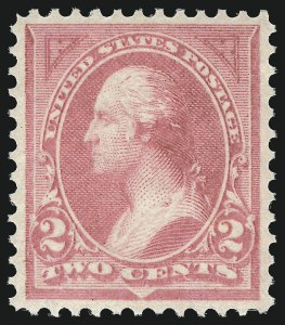 Sale Number 982, Lot Number 5596, 1894 Unwatermarked Bureau Issue (Scott 246-263)2c Pink, Ty. I (248), 2c Pink, Ty. I (248)