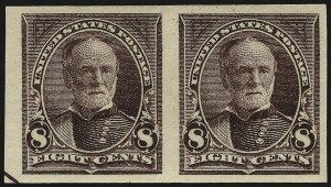 Sale Number 982, Lot Number 5611, 1895 Watermarked Bureau Issue (Scott 264-278)1c-10c 1895 Bureau Issue, Imperforate (264c, 268a, 272b, 273a), 1c-10c 1895 Bureau Issue, Imperforate (264c, 268a, 272b, 273a)