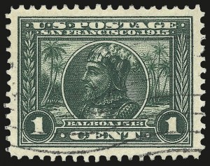 Sale Number 982, Lot Number 5782, 1913-15 Panama-Pacific Issue (Scott 397-404)1c Panama-Pacific (397), 1c Panama-Pacific (397)