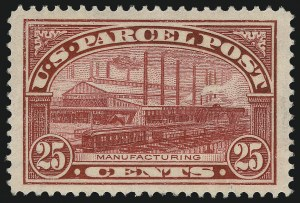 Sale Number 982, Lot Number 6179, Postal Note, Parcel Post (PN, Q, JQ, QE)25c Parcel Post (Q9), 25c Parcel Post (Q9)