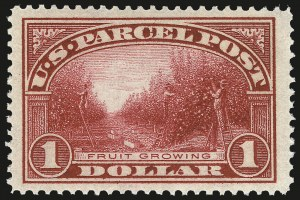 Sale Number 982, Lot Number 6184, Postal Note, Parcel Post (PN, Q, JQ, QE)$1.00 Parcel Post (Q12), $1.00 Parcel Post (Q12)