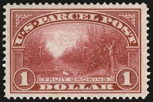 Sale Number 982, Lot Number 6185, Postal Note, Parcel Post (PN, Q, JQ, QE)$1.00 Parcel Post (Q12), $1.00 Parcel Post (Q12)