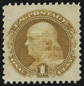 Sale Number 1000, Lot Number 1080, 1869 Pictorial Issue1c Buff (112). Mint N.H, 1c Buff (112). Mint N.H